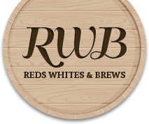 Reds Whites and Brews logo